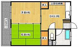 組坂ビル9[3階]の間取り