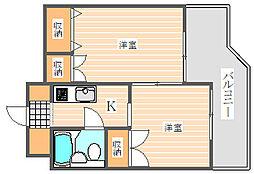 メゾン・ド・セリーズ(402)[4階]の間取り