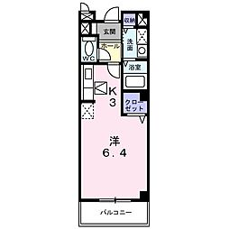 CANAL(カナル)[2階]の間取り