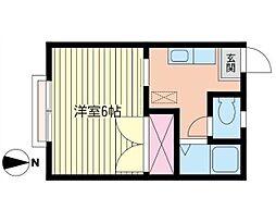 エクセル湘南  B[102号室]の外観