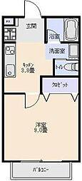 L・とれじゃーIII[202号室]の間取り