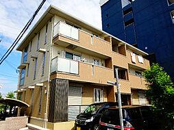 大阪府堺市中区深井清水町の賃貸アパートの外観