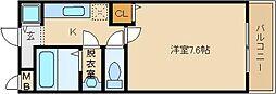 リバーサイド金岡 3番館[2階]の間取り