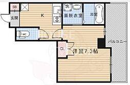 Grand Eterna京都西京極[1612号室号室]の間取り
