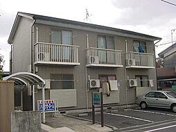 京都府城陽市長池北裏の賃貸アパートの外観