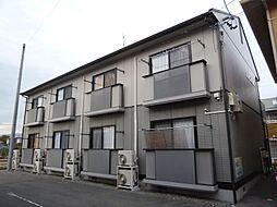 長野県諏訪市渋崎の賃貸アパートの外観