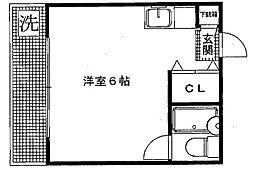 シティビラTK[101号室号室]の間取り