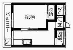 第2鈴木アパート2F[2階]の間取り