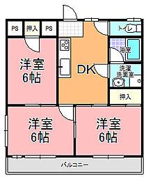 MK−2[102号室]の間取り