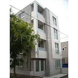 北海道札幌市豊平区美園七条8丁目の賃貸マンションの外観