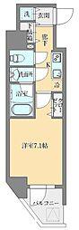 東京メトロ丸ノ内線 御茶ノ水駅 徒歩11分の賃貸マンション 13階1Kの間取り