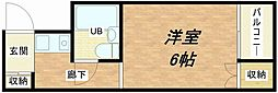 メゾン関目[4階]の間取り