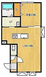 美芳町新築物件[2-D号室]の間取り