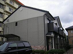 愛知県岡崎市日名南町の賃貸アパートの外観