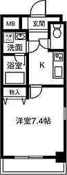 仮)プリミエール鳥居松II[405号室]の間取り