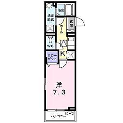 メゾン F[0103号室]の間取り