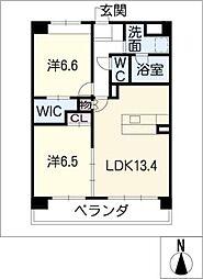 エクセル新宿[3階]の間取り