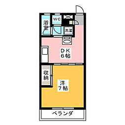コーラルマンション[3階]の間取り