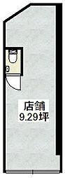 京都府京都市伏見区讃岐町の賃貸マンションの間取り