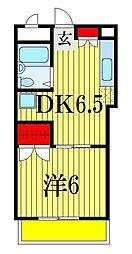 エステートハウス[3階]の間取り