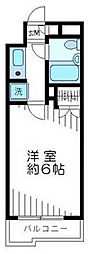 東京都世田谷区南烏山1丁目の賃貸マンションの間取り