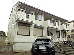 千葉県千葉市若葉区大宮台1丁目の賃貸アパートの外観