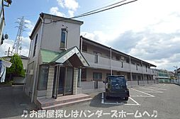 大阪府枚方市黄金野2丁目の賃貸マンションの外観