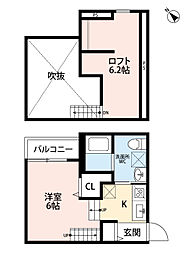 新築 トスカーニ[103号室号室]の間取り