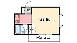 モギハイツ[2階]の間取り