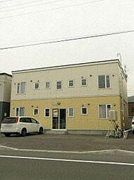 北海道札幌市手稲区星置一条8丁目の賃貸アパートの外観