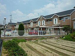 大阪府大阪狭山市東池尻3丁目の賃貸アパートの外観