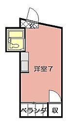 内山第27ビル[901号室]の間取り