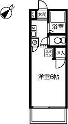 エクセル小木田[105号室]の間取り