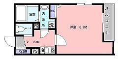 Kiyo maison綾園[1階]の間取り