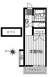 ライフステージ2[105号室]の間取り