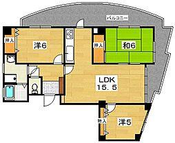 ハリマシリーズ3[2階]の間取り
