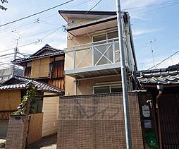 京都府京都市北区小山板倉町の賃貸アパートの外観