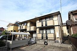 愛知県名古屋市中川区かの里3の賃貸アパートの外観