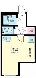 東京都豊島区要町2丁目の賃貸アパートの間取り