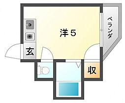 プリンスマンションリバーサイド[3階]の間取り