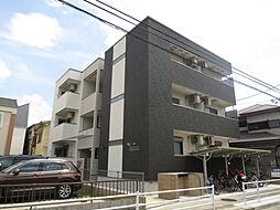 兵庫県西宮市津門綾羽町の賃貸アパートの外観