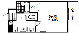 ラフィーネ兵庫[5階]の間取り