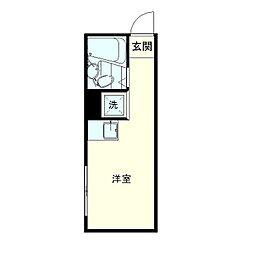 GC西早稲田[3階]の間取り
