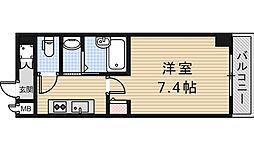 グランディール阪南町3[105号室]の間取り