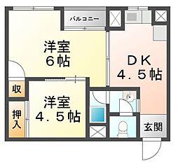 第2永昌ビル[3階]の間取り