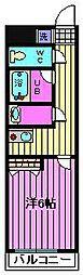 宮原プラザC棟[3階]の間取り