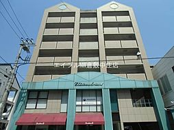 岡山県倉敷市鶴形1丁目の賃貸マンションの外観