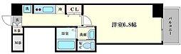 CQレジデンス大阪WEST[6階]の間取り