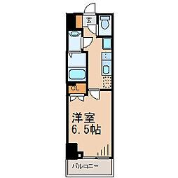 ザ・パーククロス藤沢[2階]の間取り