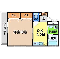 マンション・アドレ[303号室]の間取り
